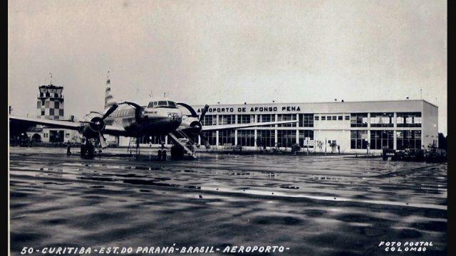 Aeroporto Internacional de Curitiba completou 74 anos em 2020