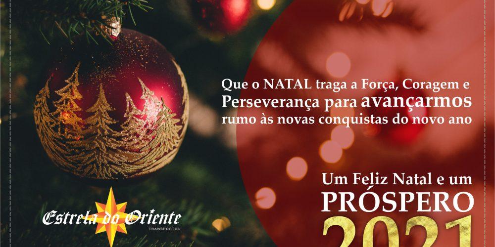 Mensagem de Natal da equipe Estrela do Oriente